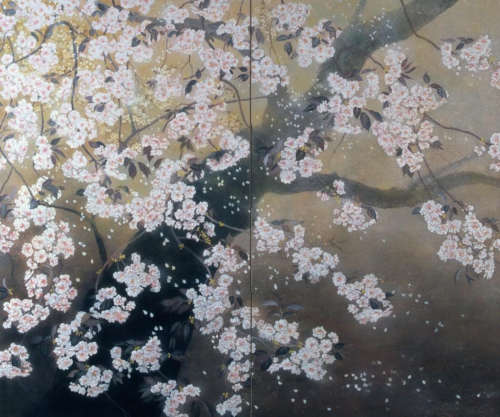 花あかり(桜 日本画)
