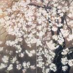 花浴び P100号×2枚
