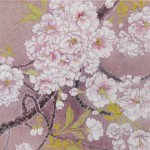 Cherry blossoms (fukurokuju) Japanese‐style paintings