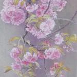 横尾 英子 『 関山 』   葉書サイズ-1