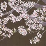 桃の花(45cm×90)