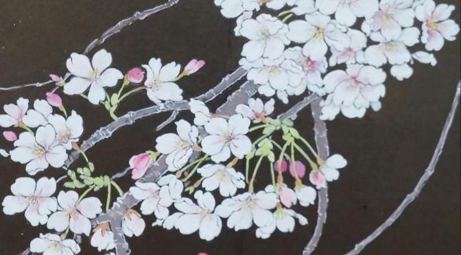 桜・2020の制作(3)